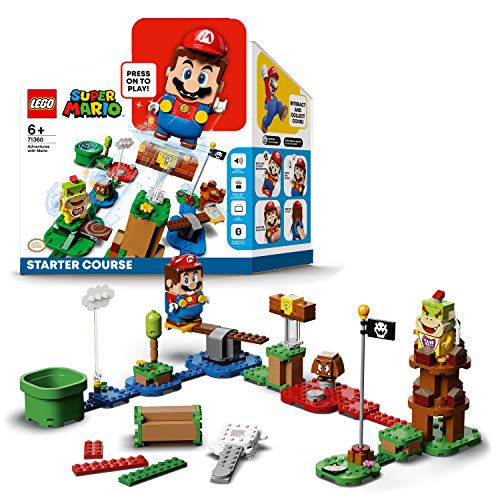 LEGO 71360 Super Mario Abenteuer mit Mario – Starterset, interaktive...
