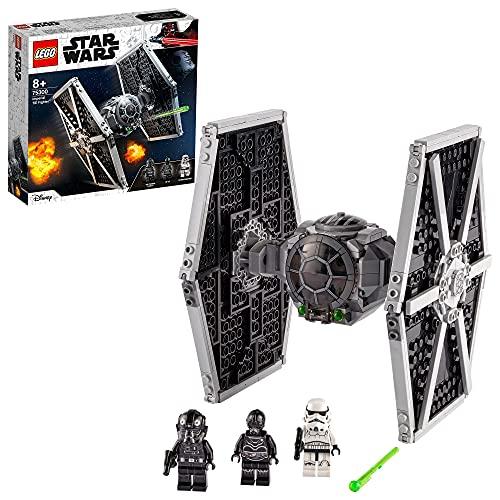 LEGO 75300 Star Wars Imperial TIE Fighter Spielzeug mit Sturmtruppler...