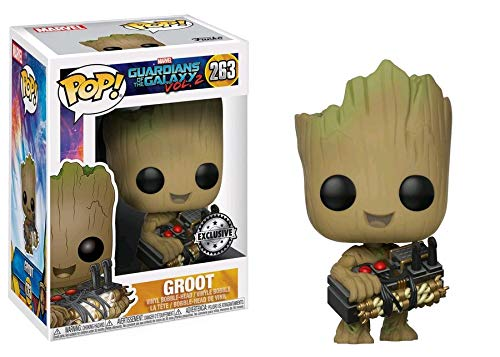 Pop Funko Marvel Guardians of the Galaxy Vol. 2 Groot #263 (Holding...