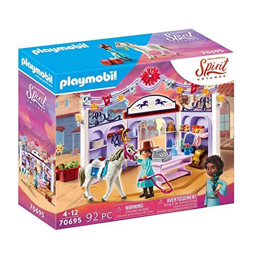 PLAYMOBIL DreamWorks Spirit Untamed 70695 Miradero Reitladen, Ab 4...