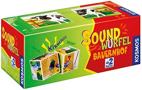 KOSMOS 697365 - Soundwürfel Bauernhof, Lernspielzeug...