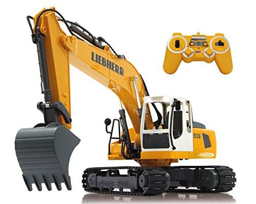 Jamara 405060 - Bagger Liebherr R936 1:20 2,4G - realistische...
