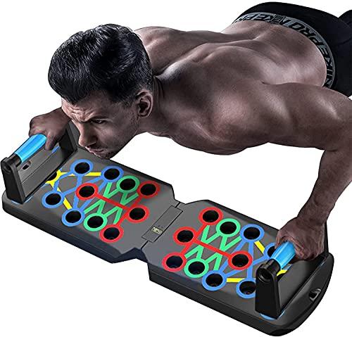 OBOBIX Push-Up-Bar Verbesserte Push-Up-Board-Trainingsgeräte für das...