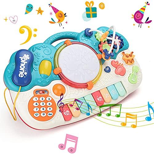 fiouni 5 in 1 Baby-Musikspielzeug für Kinder ,...