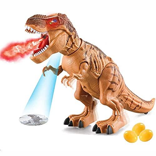 OMKMNOE Dinosaurier Spielzeug LED Tyrannosaurus, Rex Walking...