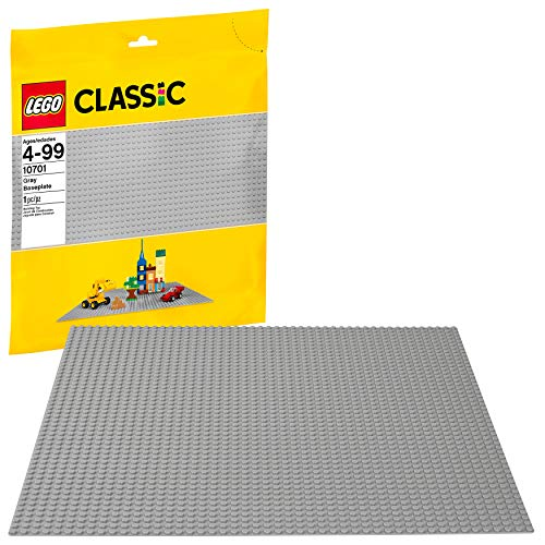 LEGO Classic Gray Baseplate 10701 by LEGO