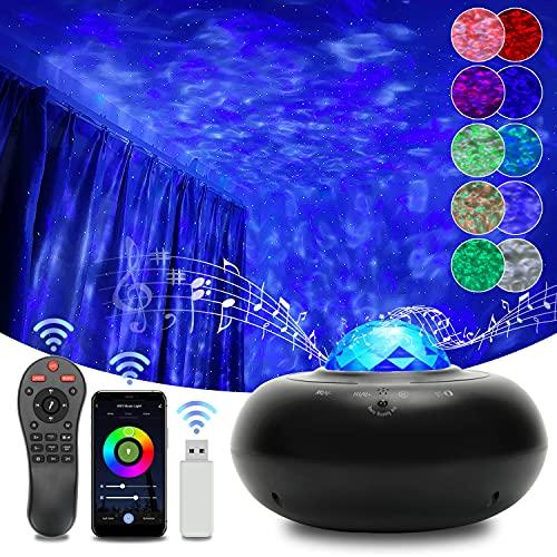 LED Alexa Sternenhimmel Projektor Smart WIFI Galaxy Light mit Voice...