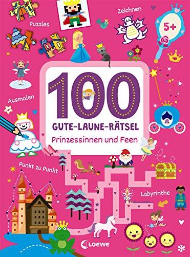 100 Gute-Laune-Rätsel - Prinzessinnen und Feen: Lernspiele für...