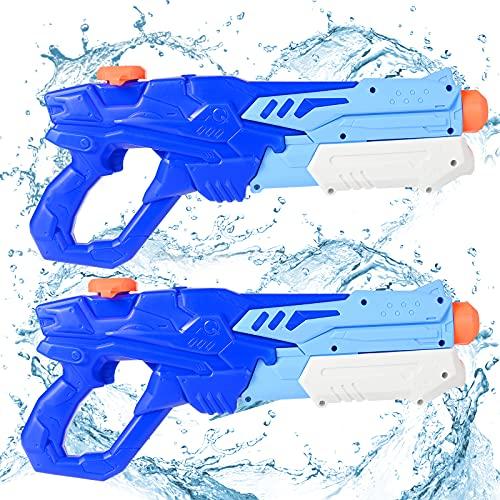 GOLDGE Wasserpistole Spielzeug Set 2x600ML...