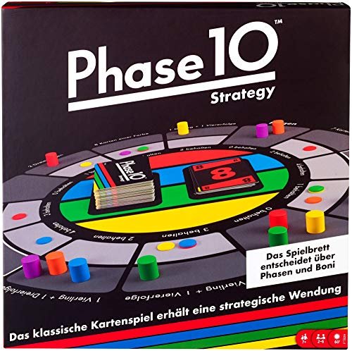 Mattel Games FTB29 Phase 10 Strategy Brettspiel, geeignet für 2 - 6...