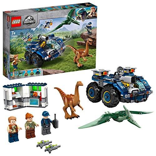 LEGO 75940 Jurassic World Ausbruch von Gallimimus und Pteranodon Dinosaurierfiguren Spielzeug für Kinder ab...