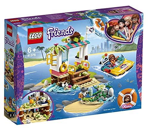 Lego 41376 Friends Schildkröten-Rettungsstation Boot Spielset mit...