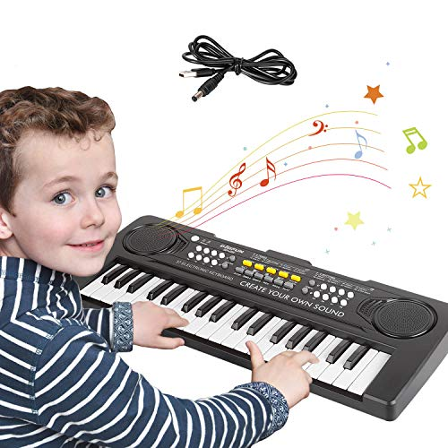 sanlinkee Kinder Klavier Piano,Digital Piano 37 Tasten Keyboard mit...