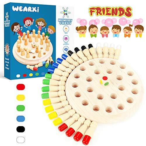 WEARXI Memory Spiel Spielzeug ab 2 3 4 jahren für Draußen Kinder,...