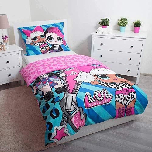 LOL Surprise Bettwäsche-Set für Einzelbetten:
