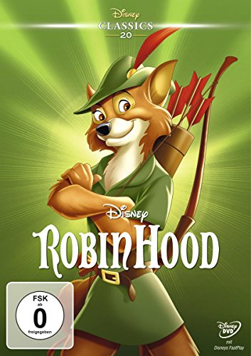 Robin Hood Trickfilm Klassiker