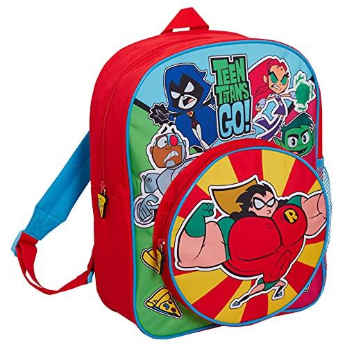 Teen Titans Go Rucksack Kinder Back to School Bag DC Super Heroes...