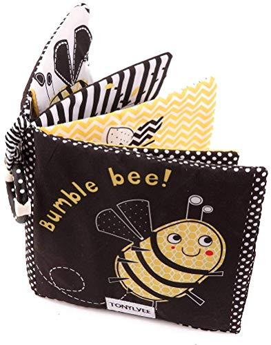 Amycute Stoffbuch für Babys,Weiches Buch für...