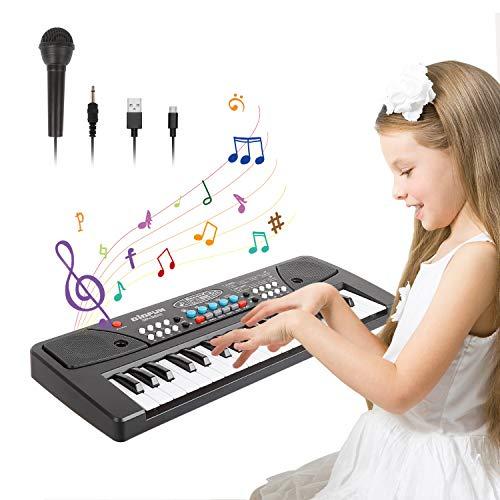 TWFRIC Keyboard Klavier,37 Schlüssel Kinder Klavier Piano frühe...