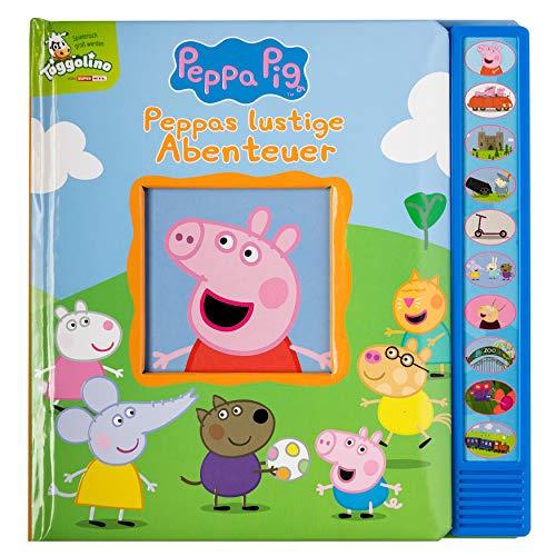 Peppa Pig - Peppas lustige Abenteuer - Vorlese-Pappbilderbuch mit 10...