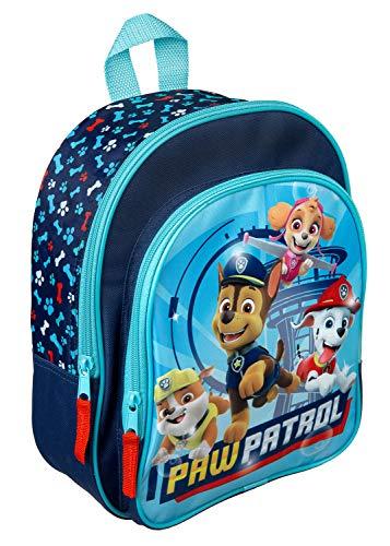 Rucksack mit Vortasche, Paw Patrol, für Schule und Freizeit, ca. 31 x...