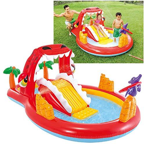 Intex Happy Dino Play Center Spielcenter, Multi Color