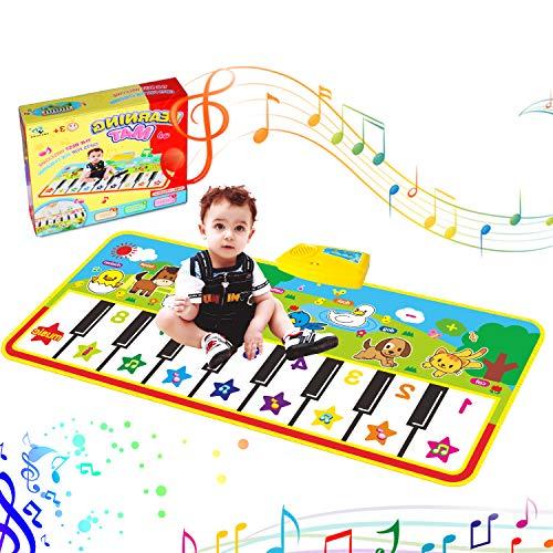 Tanzmatten Klaviermatte, Piano Mat, Musikmatte,Kinder Spielzeug Matte...