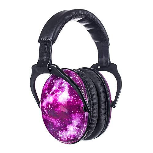 PROTEAR Kinder Ohrenschützer, Dicker Ohrpolster Verstellbare Gehörschutz, Lärmschutz Kopfhörer Kinder für...