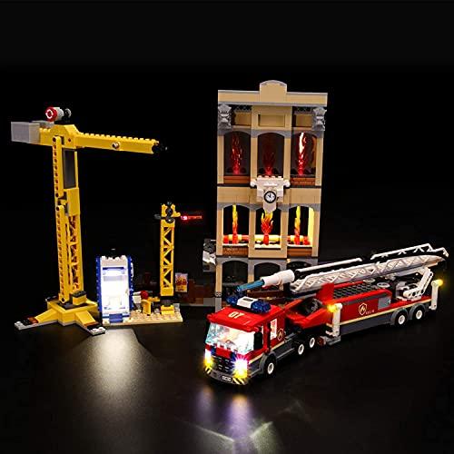 HYQX Led Beleuchtung Set für Lego 60216 City Feuerwehr in der...