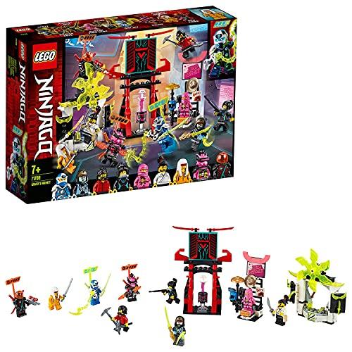 Lego 71708 NINJAGO Marktplatz, Minifiguren-Set mit Digi Jay, Avatar...