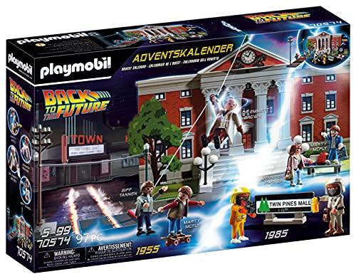 PLAYMOBIL Adventskalender 70574 Back To The Future mit Sammelfiguren...