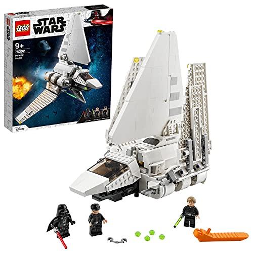 LEGO75302StarWarsImperialShuttleBausetmitLukeSkywalke...