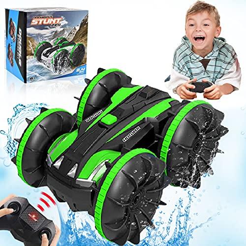 Spielzeug für 5-10 Jahre alte Jungen Ferngesteuertes Auto Amphibien...