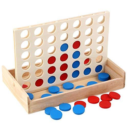WINIAER Three Dimensional Four Game Chess Backgammon Kinder Schüler...