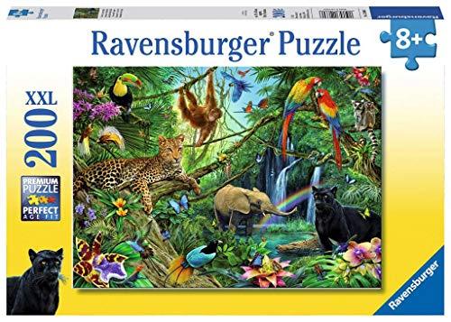 Ravensburger Kinderpuzzle 12660 - Tiere im Dschungel...