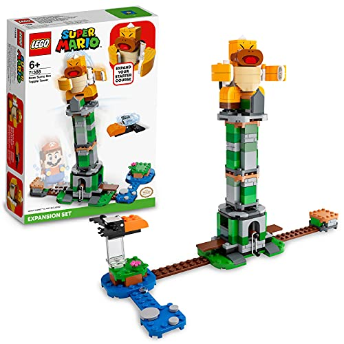 LEGO 71388 Super Mario Kippturm mit Sumo-Bruder-Boss –...