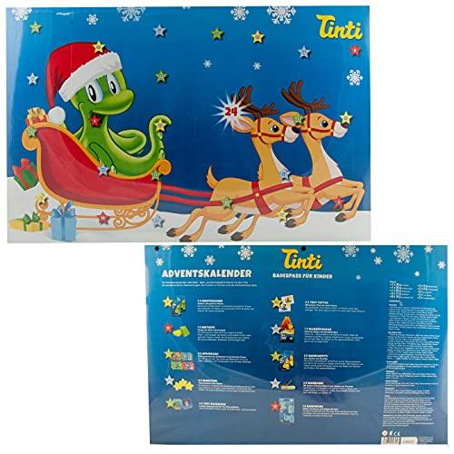 Tinti Adventskalender mit 24 Türchen 2021 - 24 x Bade-. Spiel- und...