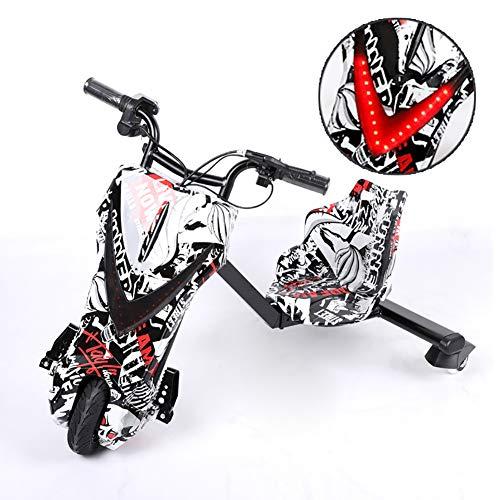 Drifting Scooter Elektrische Drift-Trikes Mit Coolen LED-Scheinwerfern ABS-Material, Mit Lithiumbatterie,...