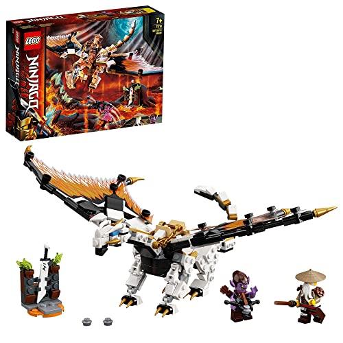 LEGO 71718 NINJAGO WUS gefährlicher Drache Spielzeug mit Master Wu &...