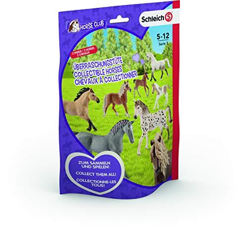 SCHLEICH – 87863 Horse Club Überraschungstüte – 2er Pack