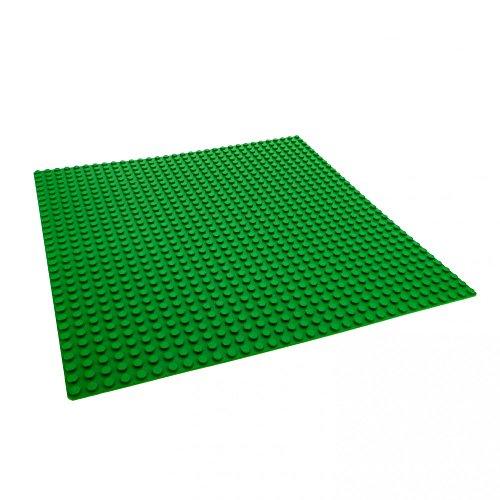 1 x Lego Basisplatte grüne Grundplatte 32 x 32 Noppen 32x32 grün...