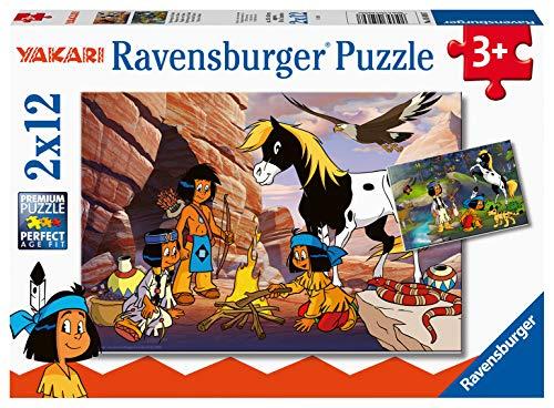 Ravensburger Kinderpuzzle - 05069 Unterwegs mit Yakari - Puzzle für...
