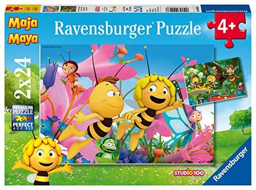 Ravensburger Kinderpuzzle - 09093 Die kleine Biene Maja - Puzzle für...