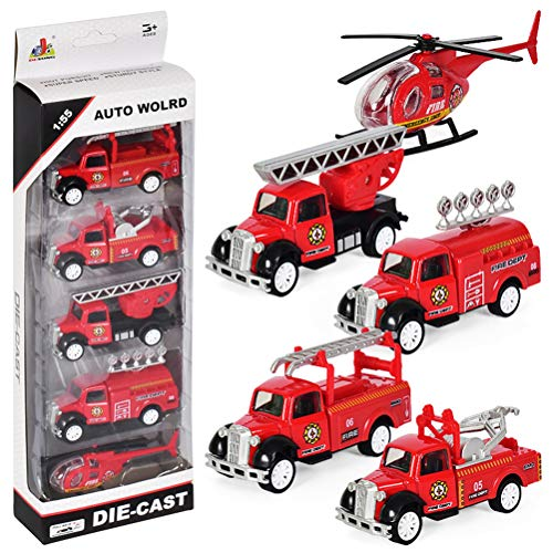 Dreamon Mini Pull-Back Fahrzeuge Spielzeugautos Modelle für Kinder ab...
