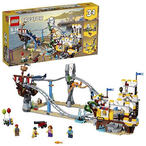 LEGO 31084 Creator Piraten-Achterbahn (Vom Hersteller nicht mehr...