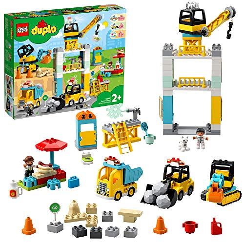LEGO Duplo Baustellenkran mit Licht und Ton ab 2 Jahre