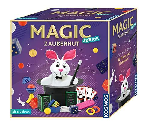 KOSMOS 680282 - Magic Zauberhut, Lerne einfach 35 Zaubertricks und...
