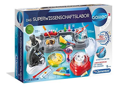 Clementoni 59083 Galileo Science – Das Superwissenschaftslabor, 150...