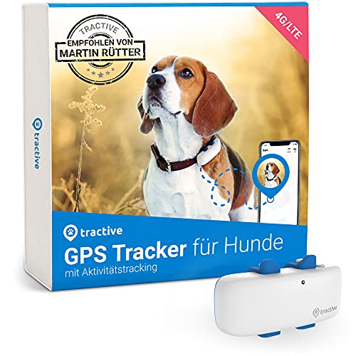 Tractive GPS Tracker für Hunde (2021). Empfohlen von Martin Rütter....