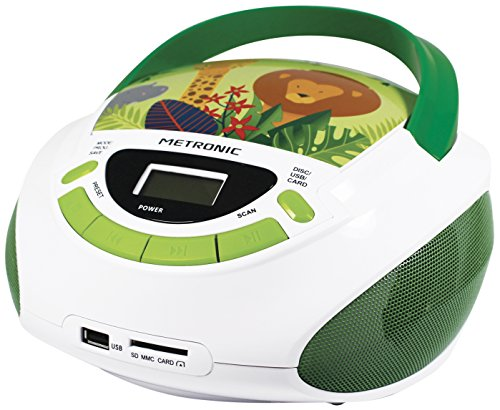 Metronic Radio/CD-Player für Kinder, Ozean, mit USB-/SD-/AUX-IN-Port...